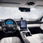 NIO ES8 interior dashboard