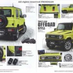 New Suzuki Jimny accessories brochure body kit