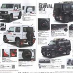 New Suzuki Jimny accessories brochure body kits