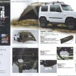 New Suzuki Jimny accessories brochure scan