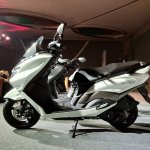 Suzuki Burgman Street Launched side profile