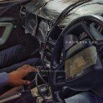 Tata Harrier dashboard spied