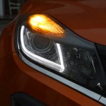 Tata Nexon AMT LED DRL and turn indicator front view