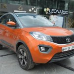 Tata Nexon AMT front three quarters right side