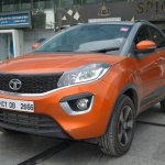 Tata Nexon AMT front three quarters