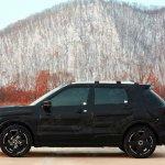 Venucia small SUV prototype profile