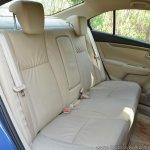 2018 Maruti Ciaz rear seat