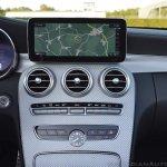 2018 Mercedes-AMG C 63 S Cabriolet (facelift) centre console details