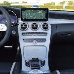 2018 Mercedes-AMG C 63 S Cabriolet (facelift) centre console