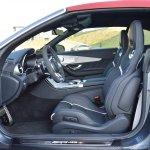 2018 Mercedes-AMG C 63 S Cabriolet (facelift) front seats