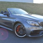 2018 Mercedes-AMG C 63 S Cabriolet (facelift) front three quarters right side featured image