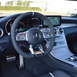 2018 Mercedes-AMG C 63 S Cabriolet (facelift) interior dashboard side view