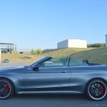 2018 Mercedes-AMG C 63 S Cabriolet (facelift) profile (top down)