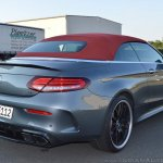 2018 Mercedes-AMG C 63 S Cabriolet (facelift) rear three quarters right side