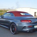 2018 Mercedes-AMG C 63 S Cabriolet (facelift) rear three quarters