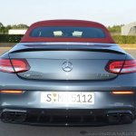 2018 Mercedes-AMG C 63 S Cabriolet (facelift) rear