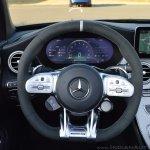 2018 Mercedes-AMG C 63 S Cabriolet (facelift) steering wheel