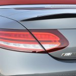 2018 Mercedes-AMG C 63 S Cabriolet (facelift) tail lamp