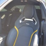 2018 Mercedes-AMG C 63 S Coupe (facelift) front seat