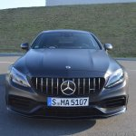 2018 Mercedes-AMG C 63 S Coupe (facelift) front