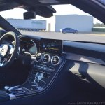 2018 Mercedes-AMG C 63 S Coupe (facelift) interior dashboard right side view