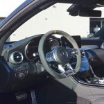 2018 Mercedes-AMG C 63 S Coupe (facelift) interior dashboard