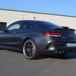 2018 Mercedes-AMG C 63 S Coupe (facelift) rear three quarters