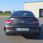 2018 Mercedes-AMG C 63 S Coupe (facelift) rear