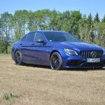 2018 Mercedes-AMG C 63 S (facelift) front three quarters right side