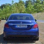 2018 Mercedes-AMG C 63 S (facelift) rear