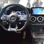 2018 Mercedes-AMG C 63 S (facelift) white dashboard driver side