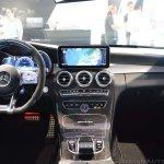 2018 Mercedes-AMG C 63 S (facelift) white dashboard