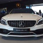 2018 Mercedes-AMG C 63 S (facelift) white front