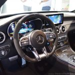 2018 Mercedes-AMG C 63 S (facelift) white interior dashboard
