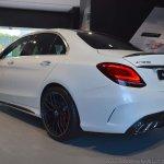 2018 Mercedes-AMG C 63 S (facelift) white rear three quarters