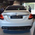 2018 Mercedes-AMG C 63 S (facelift) white rear