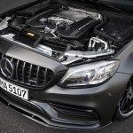 2018 Mercedes-AMG C 63 (facelift) V8 engine