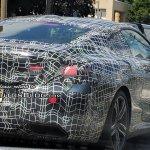 2019 BMW 8 Series Coupe exterior spy shot USA