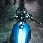 royal enfield continental gt 650 clip on handlebar 076b