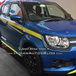 Ignis Suzuki Sport front three quarters right side at GIIAS 2018