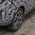 Indian-spec Nissan Kicks rear wheel spy shot