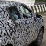Indian-spec Nissan Kicks right side spy shot