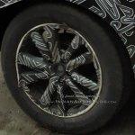 Indian-spec Nissan Kicks wheel spy shot
