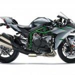 Kawasaki Ninja H2 Carbon right side profile