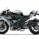 Kawasaki Ninja H2 side profile
