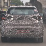 Mahindra S201 base variant rear spied