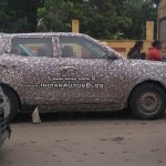 Mahindra S201 base variant side spied