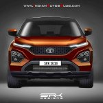 Tata Harrier front rendering (updated)