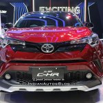 Toyota C-HR TRD front at GIIAS 2018