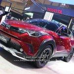 Toyota C-HR TRD front quarter at GIIAS 2018